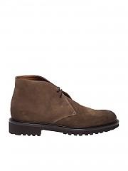 [관부가세포함][듀칼스] FW19 남성 정장 슈즈 boots in tobacco-colored suede (DU1247OTTAUF011TC02)