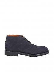 [관부가세포함][듀칼스] FW19 남성 Blue suede 정장 슈즈 boots (DU1018GENOUF009NB00)