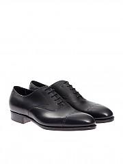 [관부가세포함][에드워드 그린] Oxford shoes (MIDFORD F82 BLACK CALF)