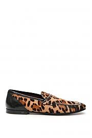 [관부가세포함][돌체앤가바나] (A50351 AX605 HAALM) SS20 남성  leopard print erice 로퍼