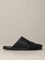 [관부가세포함][보테가베네타] (611144 VBSN0 1000)  Summer 20 남성  sliper in woven nappa leather