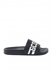 [관부가세포함][GCDS] Black sandals with GCDS logo (CC94U010216 02.)