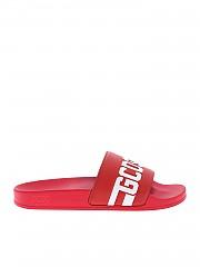 [관부가세포함][GCDS] Red sandals with GCDS logo (CC94U010216 03)