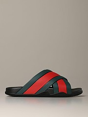[관부가세포함][구찌] (630326 J8700 8460)  Winter 20 남성 sandal agrado  in rubber