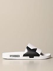 [관부가세포함][하이드로겐] (225910 001)  Winter 20 남성  slipper sandal with skull and star