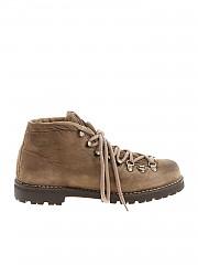 [관부가세포함][Le Cortina by Andrea Ventura] Taupe vintage effect boots (CORTINA 1 ROVESCIO WASH CORDA)