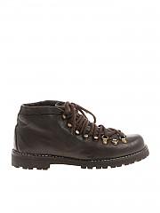 [관부가세포함][Le Cortina by Andrea Ventura] Brown vintage effect ankle boots (CORTINA 1 IGNIS WASH T.MORO)