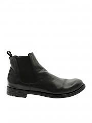 [관부가세포함][오피시네크리에이티브] Chelsea in black leather (HIVE/007 NERO)