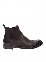 [관부가세포함][오피시네크리에이티브] FW19 남성 첼시 부츠 in ebony color leather (HIVE/007 EBANO)