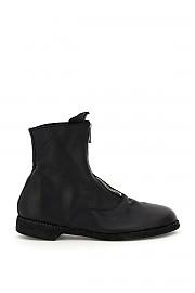 [관부가세포함][구이디] (210 BLKT) FW20 남성  front zip leather앵클부츠