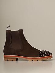 [관부가세포함][크리스찬루부탱] (3201296 C668)  Winter 20 남성 shoes men  dark