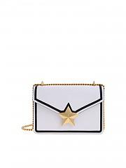 [관부가세포함][les jeunes toiles] Vega Trim bag in white and black (V06-SM03-C01G)