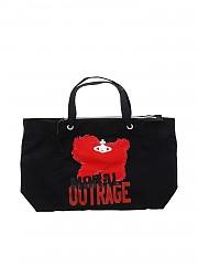 [관부가세포함][비비안웨스트우드 앵글로매니아] Black Westminster Moral Outrage bag (42050035-10083-ET N435)