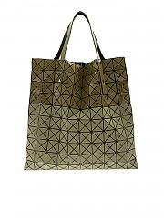 [관부가세포함][바오바오 이세이미야키] Bi-Texture Prism bag in Army green (BB98-AG543 65)