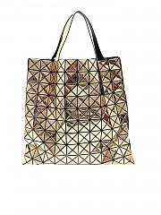 [관부가세포함][바오바오 이세이미야키] Lucent Metallic bag in patinum color (BB98-AG123 92)