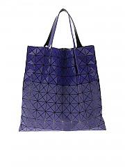 [관부가세포함][바오바오 이세이미야키] Prism Bi-Texture bag in purple (BB98-AG543 81)