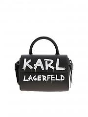 [관부가세포함][칼라거펠트] FW20 여성 핸드백 (206W3059 BLACK/WHITE)