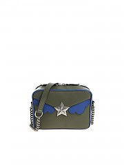 """[관부가세포함][les jeunes toiles] """"Camera"""" green shoulder bag (V03-SMO2-N01N)"""