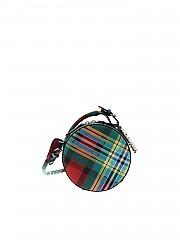 [관부가세포함][비비안웨스트우드 앵글로매니아] Shuka multicolor shoulder bag (43030030 10769 2214)