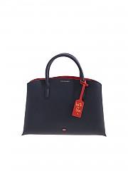 [관부가세포함][루루기네스] FW19 여성 토트백 Emme handbag in blue (50158379 NAVY/CLASSIC RED)