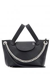 [관부가세포함][멜리멜로] 여성 핸드백 G(THL0301 BLACK)
