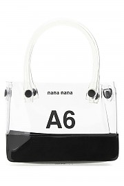 [관부가세포함][나나나나] FW20 여성 핸드백 G(NA061 CLEARBLACK)
