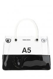 [관부가세포함][나나나나] FW20 여성 핸드백 G(NA062 CLEARBLACK)