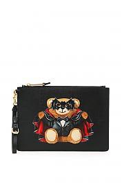 [관부가세포함][모스키노] (A8429 8210 1555) SS20 여성  bat teddy bear파우치
