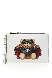 [관부가세포함][모스키노] (A8429 8210 A1001) SS20 여성  bat teddy bear파우치