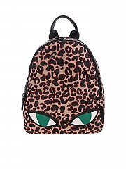 [관부가세포함][루루기네스] FW19 여성 백팩 Wild Cat Sadie animalier backpack (50158188 TAN/BLACK)