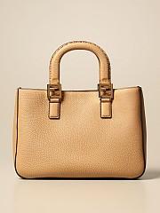 [관부가세포함][펜디] (8BH367 SFR F15KR)  Winter 20 여성  leather bag with logo honey
