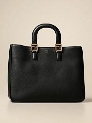 [관부가세포함][펜디] (8BH368 SFR F0KUR)  Winter 20 여성  bag in textu leather with logo