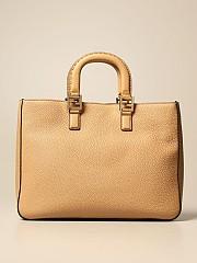 [관부가세포함][펜디] (8BH368 SFR F15KR)  Winter 20 여성  bag in textu leather with logo honey
