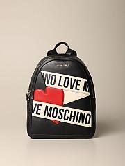 [관부가세포함][모스키노] (JC4029PP1BLD1 00A)  Winter 20 여성 love 백팩 in synthetic leather multicolor