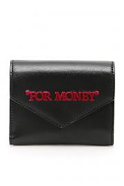 """[관부가세포함][오프화이트] (OWNC010S20LEA003 1032) SS20 여성 off- trifold지갑""""for money"""""""