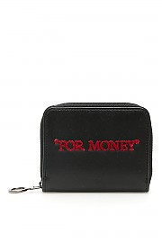 """[관부가세포함][오프화이트] (OWNC012S20LEA002 1032) SS20 여성 off- zip-around purse """"for money"""""""