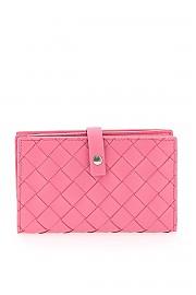 [관부가세포함][보테가베네타] (609070 VCPP3 5632) FW20 여성  bi-fold intrecciato 15 지갑