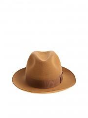 [관부가세포함][보르살리노] Camel colored felt Alessandria hat (39 0008 1351)