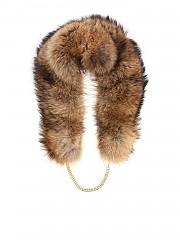 [관부가세포함][클립스] Brown fur collar (W8 1 T404 1081 00026)