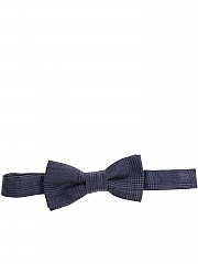 [관부가세포함][알테아] Blue bow tie with checked pattern (1825457 05)