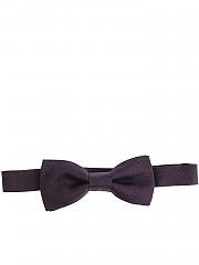 [관부가세포함][알테아] Blue bow tie with burgundy embroidery (1820042 05)