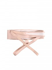 [관부가세포함][KI6? Who are you?] Pink leather belt (43 8 CI02 00137)