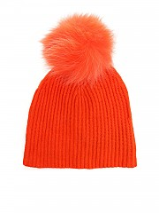 "[관부가세포함][이브살로몬] Orange ""Bonnet"" beanie (9WAA046XXMARD RIO A4024)"