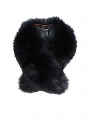 [관부가세포함][이브살로몬] Black fur neck warmer (8WAA019XXRDXX NOIR C99)