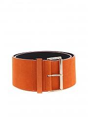 [관부가세포함][블루걸] Belt in orange suede leather (44219 103)
