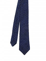 [관부가세포함][키톤] polka dot patterned silk twill tie (3G3404)