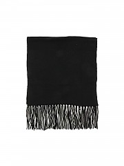 [관부가세포함][캉크라 캐시미어] FW20 여성 black 스카프 featuring lamé detail (W1A 1532 24 00013)
