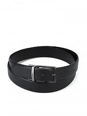 [관부가세포함][엠포리오아르마니] 남성 black saffiano reversible belt (Y4S202Y LP4J8 8001)