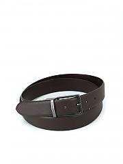 [관부가세포함][엠포리오아르마니] 남성 brown saffiano reversible belt (Y4S202Y LP4J8 8209)