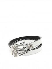 [관부가세포함][KATE CATE] Thin Kim belt (BLT019N WHITE)